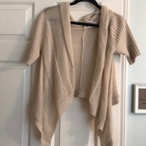 Light weight cream sway cardigan